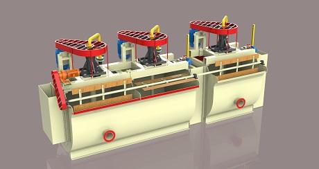 JYF(金燁浮)型充氣浮選機