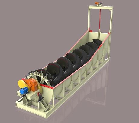 沉沒式螺旋分級機